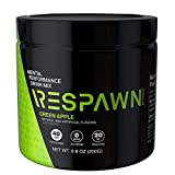 RESPAWN by Razer Mental Performance Drink Mix, Green Apple, 40 Servings (Tub)