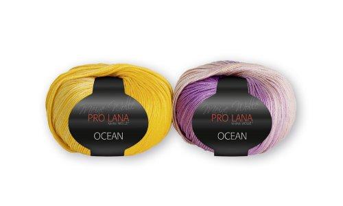 Pro Lana OCEAN, Meine Wolle, 100 % ägypt. Baumwolle, 50 g, tolle Farben (Fb. 22)