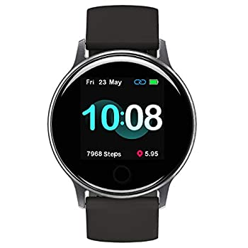 UMIDIGI Smart Watch for Android Phones Compatible with Samsung iPhone Sleep Tracker Waterproof Smartwatch with Heart Rate Monitor Fitness Tracker for Women and Men-Uwatch 2S