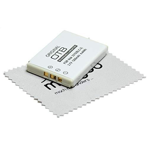 OTB - Batería de Repuesto para Nokia 3310, 3330, 3410, 3510, 5510, 6650, 6800, 6810 (Equivalente a batería Original BLC-1 BLC-2 BMC-3) con paño de Limpieza mungoo