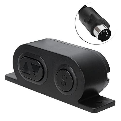 CUTULAMO Controlador reclinable, Controlador de elevación de Material ABS fácil de Instalar para sofás eléctricos para escritorios Infantiles para Camas eléctricas