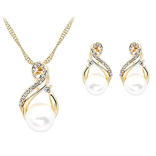 (80% OFF) Necklace & Earrings Set $3.20 – Coupon Code