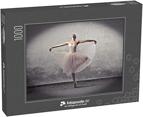 Puzzle 1000 Teile Wunderschöner Ballerina-Tanz - Klassische Puzzle, 1000 / 200 / 2000 Teile, edle Motiv-Schachtel, Fotopuzzle-Kollektion 'Kunst'