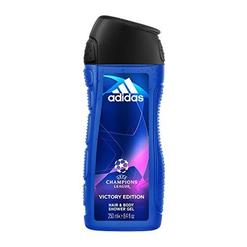 Coty Beauty Germany GmbH, Consumer Adidas uefa champions league geschenkset für herren - aromatisch-frisches eau de toilette & duschgel - 1 x 50 ml eau de toilette & 1 x 250 ml duschgel