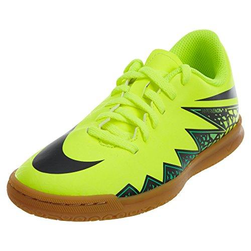 Nike Jr Hypervenom Phade II IC, Scarpe da Calcio Unisex Bambino, Verde (Vert (Volt/Black Hyper Turq Clr Jade), 38