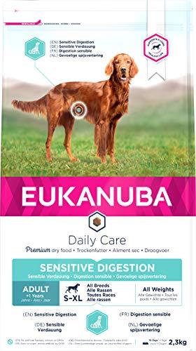 Eukanuba Daily Care - Croquettes pour Chien Adult Digestion Sensible - 2,3kg