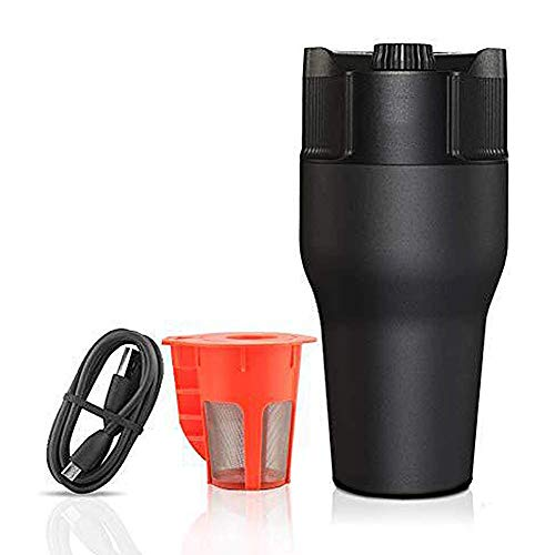 Best Prices! MA Portable Coffee Maker Rechargeable Espresso Machine 550ML Capsule and Powder Stainle...