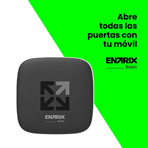 ENTRIX Basic - Abre todas las puertas automáticas con tu móvil vía Bluetooth y olvídate de los mandos - Sin necesidad de Wifi ni datos móviles 3G/4G - Control de accesos