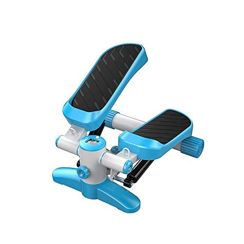 AOLI Máquina de pedal mudo aeróbico casero que adelgaza formando con pantalla led hidráulico paso a paso,Azul