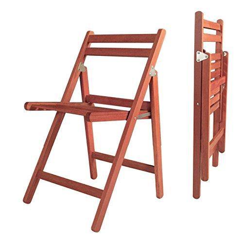 Accueil Loisirs Plein bois Chaises pliantes Balcon Chaise de déjeuner Chaise paresseuse Chaise de plage Chaise longue Chaise longue (Couleur : A)