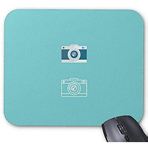 Muismat camera Icon Flat Design Print Muismat