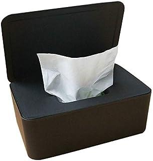 Tding Tissue Opbergdoos Case Natte doekjes Dispenser Houder met Deksel voor Home Office(BK)
