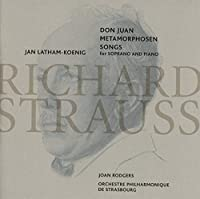 Don Juan Metamorphosen Songs for Soprano