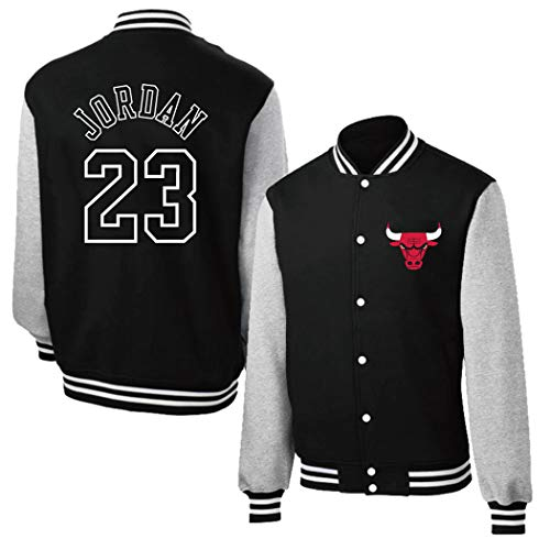 Chicago Bulls Herren Baseball Varsity Jacke Abzeichen, Herren Basketball Sweatshirt