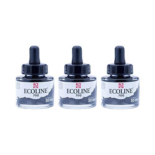 Ecoline Liquid Watercolor 30ml Pipette Jar - Black (11257001)