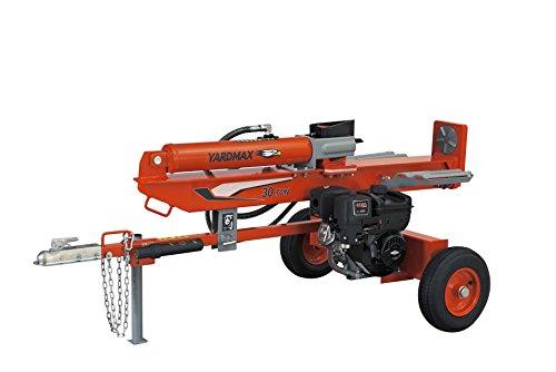 Fantastic Deal! YARDMAX YU3066 30 Ton Full Beam Gas Log Splitter, 4-Way Wedge, Briggs & Stratton, CR...