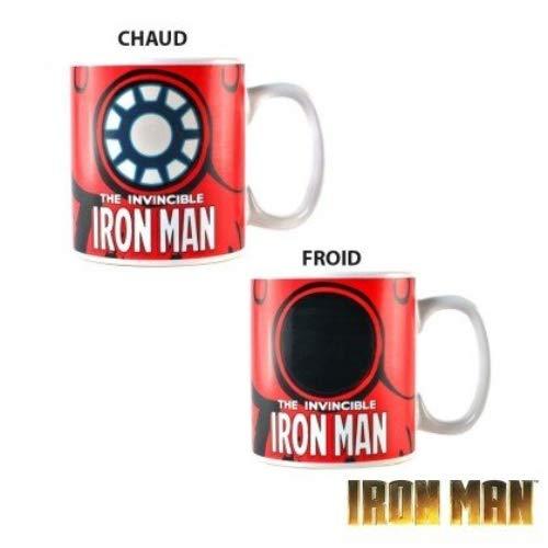 Half Moon Bay MUGBMV05 Iron Man Marvel Comics Tasse Thermo-adhésive 400 ML