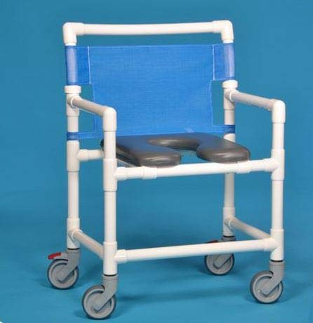 Extra Wide Shower Chair All Locking Casters