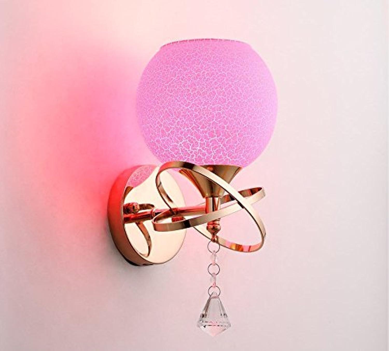Wlxsx Modernes Minimalistisches Led Wandleuchte Wohnzimmer Nachttischlampe American Style Europischen Treppe Gang Hotel Wandleuchte Einem Kopf