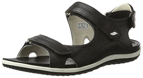 GEOX Woman D SANDAL VEGA SANDALS BLACK_35 EU