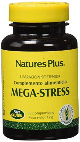 Nature's Plus Mega-Stress - Complemento alimenticio,30 Comprimidos