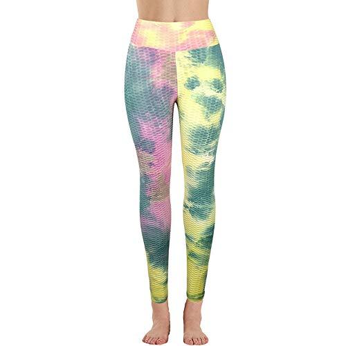 Vertvie yogabroek voor dames, sportleggings, hardloopbroek, fitness, workout, fitness, hardlopen, panty's, dunne print broek, joggingbroek, trainingsbroek