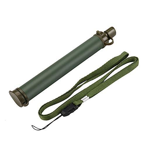 Purificateur d'eau en plein air, portable d'urgence en plein air, élimine les bactéries et les protozoaires pour la randonnée, le camping, les voyages, les sports de plein air L b