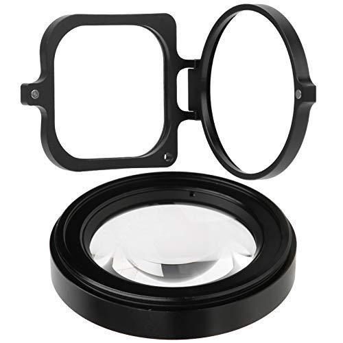 Sxhlseller Filtro de Lente Macro, filtros Macro de 58 mm para cámara de acción GOPRO Hero 8 Filtro de Lente de fotografía subacuática de Buceo de Primer Plano Macro 16X