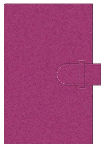 Pierre Belvedere Executive A5 Notebook, Refillable, Fuchsia (877950)