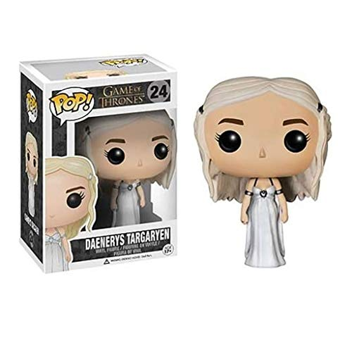 Xqwo Pop!TV: Game of Thrones - Daenerys Targaryen (Brautkleid) # 24 Sammlerfigur von TV-Serie