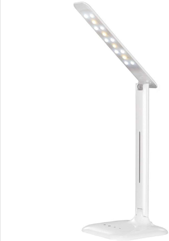 XYLKHG Tischlampe, Dual Farbtemperatur Lichtquelle 5 Dateien Dimmen Touch Folding Eye Led Student Lernen Tischlampe Für Wohnzimmer, Schlafzimmer Nachtbeleuchtung