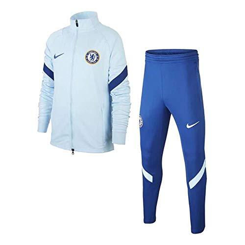 Nike Chelsea 2020-21 - Chándal para niño, turquesa, S 128-137cm 8-10YRS
