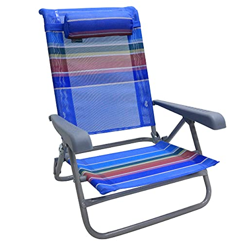 Homecall - Silla de playa plegable con 7 posiciones (varios colores)