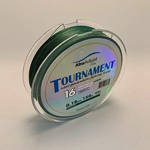 AbuAdiyat 16 Strand PE Líneas de Pesca Trenzada - Serie de torneos...