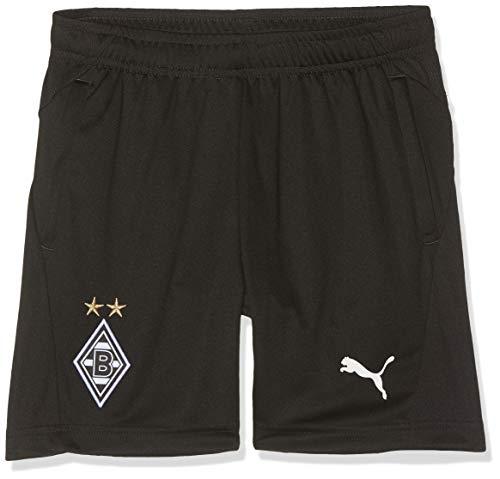 PUMA Kinder BMG Training Shorts Jr Pockets with Zippers Trainingsshorts, Black, 164