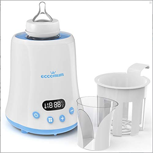 JJone Aquecedor de mamadeiras Aquecedor rápido de leite com display LCD e cronômetro