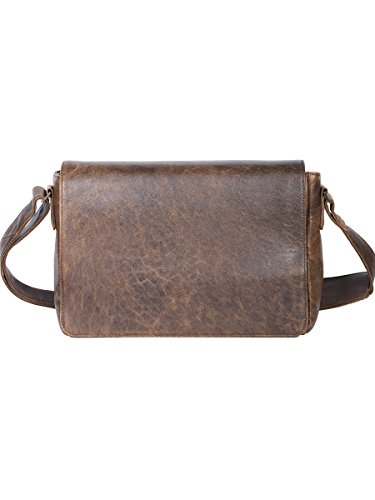 Scully Squadron Messenger Bag Antique Brown One Size
