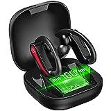 Auriculares Bluetooth Deportivos, Motast Auriculares Inalámbricos Bluetooth 5.1 Sonido Estéreo con Micrófono Incorporado, IP7 Impermeable In-Ear Auricular con Cancelación de Ruido 40 Horas de Duración