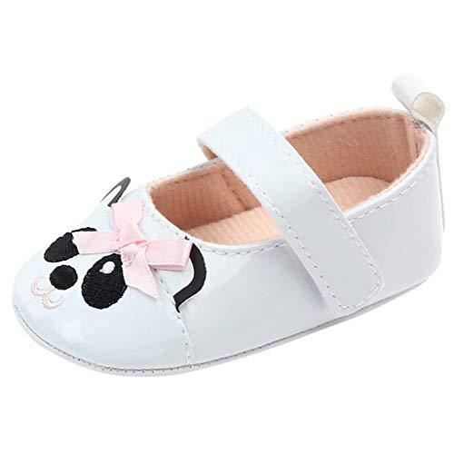 WEXCV Kleinkind Baby Mädchen Kinder Cartoon-Panda Einzelne Schuhe Weiche Sohle Prinzessin Schuhe Herbst Verdicken Nette Freizeitschuhe Lauflernschuhe Outdoorsandalen