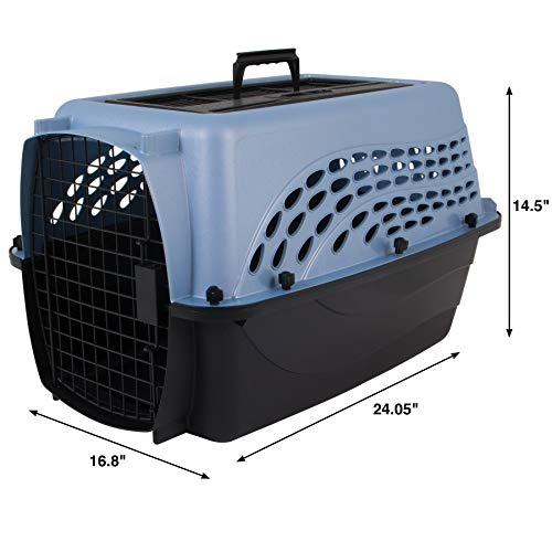 Petmate Two Door Top Load Pet Kennel, 24 inches