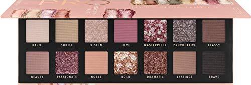 Catrice Pro Next-Gen Nudes Slim Eyeshadow Palette, Lidschatten, Nr. 010 Courage Is Beauty, mehrfarbig, langanhaltend, schimmernd, metallisch, matt, intensiv, glitzernd, ohne Parfüm (10,6g)