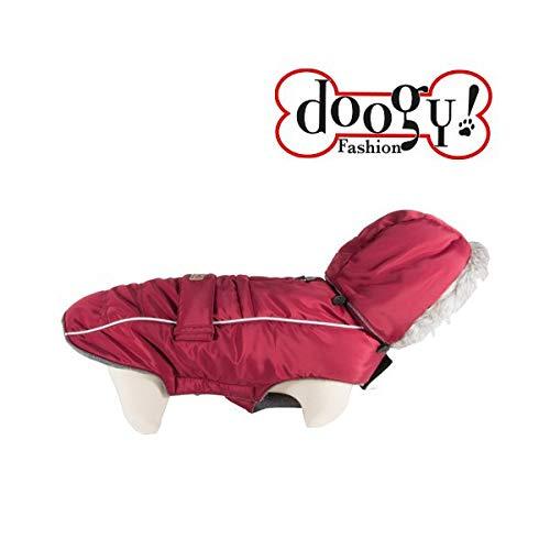 Softy Bulldog T42 - Abrigo de plumón, Color Rojo