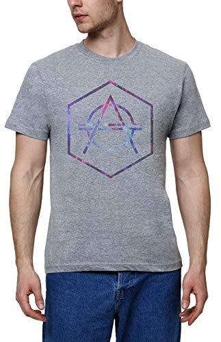 Galaxy Don Diablo Cool Herren Grau T-Shirt | Men's Grey T-Shirt Tshirt T Shirt