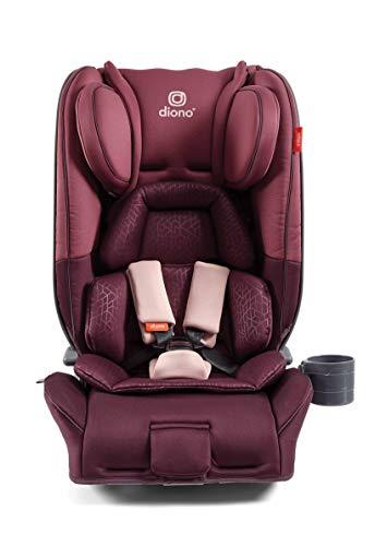 Diono Radian 5, Gruppe 0+/1/2, Kindersitz, rückwärtsgerichtet ab Geburt bis 25 kg, vorwärtsgerichtet 9–25 kg (ca. 6 Jahre), Pflaume