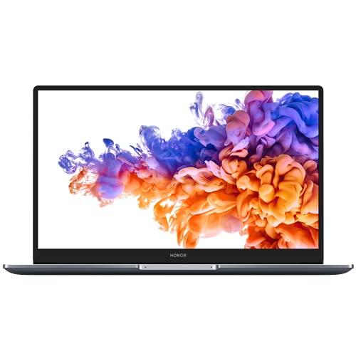 HONOR MagicBook 15 2021 PC Portable, 15.6'' 1080p FHD (Intel 11ème génération Core i5-1135G7, Wi-Fi 6, RAM 16 Go, SSD 512 Go, Windows 10 Home, Clavier Français AZERTY) - Space Grey