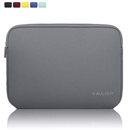 AULEEP Funda para computadora portátil de 13-14 Pulgadas, Funda de Neopreno Tableta de Bolsillo para Acer/ASUS/DELL/Lenovo/HP, Gris
