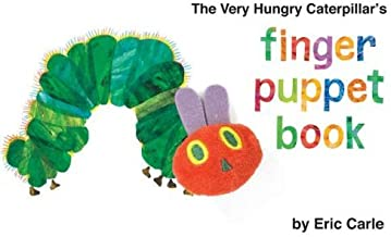 The Very Hungry Caterpillars Finger Puppet Book by Carle, Eric [Grosset & Dunlap,2011] (Board book)