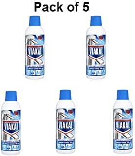 Viakal Limescale Remover Liquid 500Ml Pack Of 5 912212 X 5 Packaging May Var
