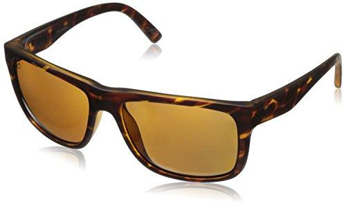 Electric unisex adult Swingarm Sunglasses, Matte Tortoise Shell, 55 mm US