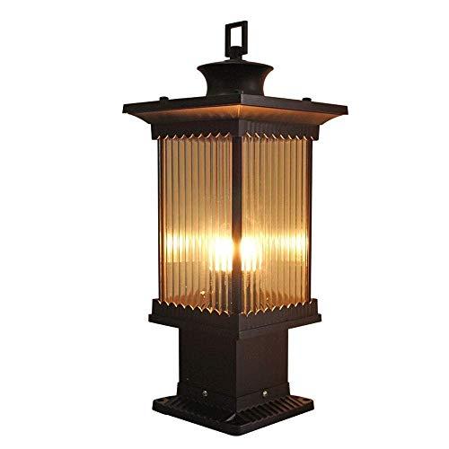LBMTFFFFFF Lámpara de Pared Luz de Soporte Luces de Césped de Villa Luces de Calle Luces de Paisaje Luces de Jardín Iluminación Led Todo de Aluminio Luces para Exteriores Antioxidantes